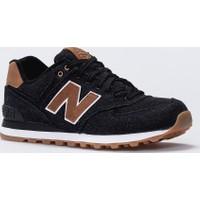 New Balance 574-Denim Pack Siyah Erkek Günlük Ayakkabı