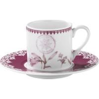 Kütahya Porselen Rüya 9743 Desen Kahve Fincan Takımı