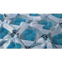 Turunç Tasarım emzik Kokulu Sabun (Mavi) 30 Adet