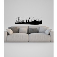 İstanbul-1 Vinil Duvar Sticker
