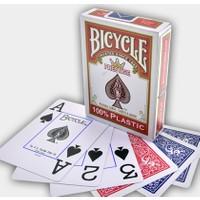 Bicycle Plastik Kırmızı Renk Oyun Kağıdı