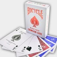 Bicycle Crimson Luxe Aluminyum Kaplama Oyun Kağıdı