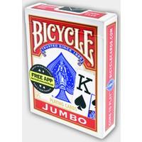 Bicycle Jumbo Oyun Kağıdı Kırmızı