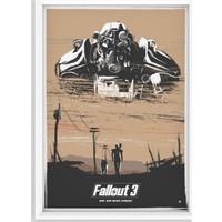 Juno Fallout 3 Çerçeveli Poster