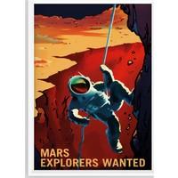 Juno Mars Kaşifi Çerçeveli Poster