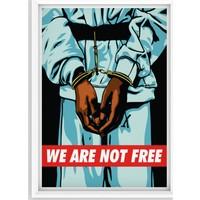 Juno Özgür Değiliz Çerçeveli Poster