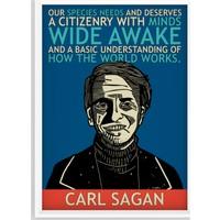 Juno Carl Sagan Çerçeveli Poster