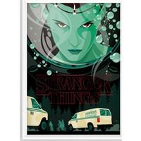 Juno Stranger Things Çerçeveli Poster