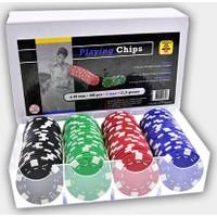 Pusula Oyun Engelhart 100 Adet Poker Fişi (11,5 Gram Poker Chip Seti Hollanda)