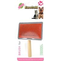 Eurogold Kedi / Köpek Tahta Saplı Fırça X Large