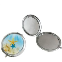 Tahtakale Toptancısı Ayna Metal Kapaklı Yuvarlak Model Yıldızlı (10 Adet)