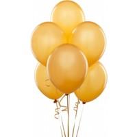 Sihirli Parti Metalik Balon Altın (20 Adet)