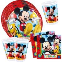 Sihirli Parti Mickey Mouse Süper Parti Seti 24 Kişilik