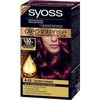 Syoss Oleo Intense Color 4-23 Bordo Kırmızı Saç Boyası