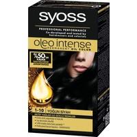 Syoss Oleo Intense Color 1-10 Yoğun Siyah Saç Boyası