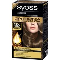 Syoss Oleo Intense Color 6-10 Koyu Kumral Saç Boyası