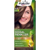 Palette Natural Colors 6.0 Koyu Kumral Saç Boyası