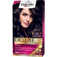 Palette Deluxe 1.0 Siyah Saç Boyası