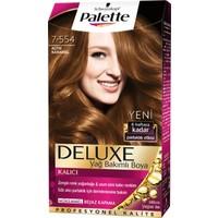 Palette Deluxe 7.554 Altın Karamel Saç Boyası