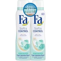 Fa Deospray 2'Li Soft&Control 150 Ml+150Ml