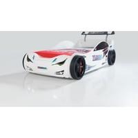 Mvn 1 Eco Arabalı Yatak Beyaz Çocuk Karyolası