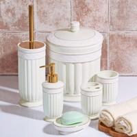 İhouse Stonware 6 Parça Banyo Seti