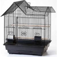 Qh Pet Cage Kafes Villa Çatılı Prinç 47X36X58 (4)
