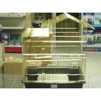 Qh Pet Cage Qh Papağan Kafesi Pirinç Kaplama (46.5 X 36 X 57.5)