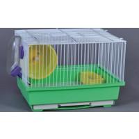Dayang Hamster Kafesi Aksesuarlı 30X23X31
