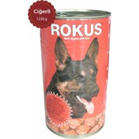 Rokus Ciğerli 1250 G. Köpek Konserve Maması