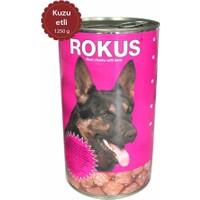 Rokus Kuzu Etli 1250 G. Köpek Konserve Maması