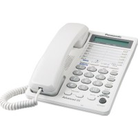 Panasonic kx-t2378 Çift Hatlı Masa Telefonu Beyaz