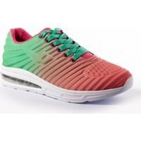 Viscon Kadın Ayakkabı 1675250 Yeşil -Fuşya