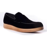 Conteyner Erkek Ayakkabı 618238 Siyah Süet