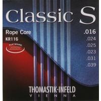 Thomastik Kr116 Klasik Gitar Teli Classic S Rope Core Flatwound 16/39 Light Tension