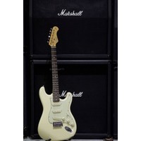 Kozmos Kst-62Sss-Grwn-Vwh 62 Stratocaster Sss Vintage Beyaz Elektro Gitar