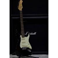 Kozmos Kst-62Sss-Grwn-Bk 62 Stratocaster Sss Siyah Elektro Gitar