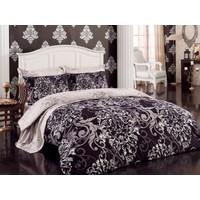 Cottonbox Royal Saten Çift Kişilik Uyku Seti Rüya Bej
