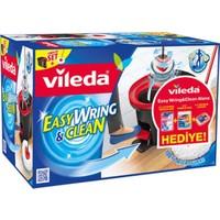 Vileda Easy Wring Clean Temizlik Seti / Extra 1 Adet Yedek Microfiber Mop Başlıklı