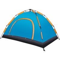 Angel Eye 4 Kişilik Otomatik Kamp Çadırı 200 x 200 x 135 Cm Çantalı Sineklik