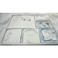 İpeksi Hastane Çıkışı Mavi Baloncuk 10 Parça Set