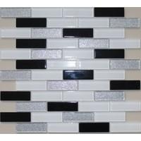Mcm Mutfak Tezgah Arası Kristal Cam Mozaik Mp487 - 23 x 75