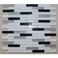 Mcm Mutfak Tezgah Arası Kristal Cam Mozaik Mp720 - 15 x 73