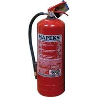MAPEKS Onaylı 6kg Yangın Söndürücü (Yeni Yönetmeliğe Göre Üretilmiştir) 50013543