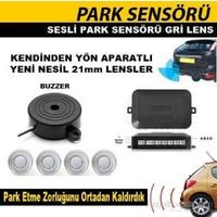 Park Sensörü 4 Sensörlü Sesli Gri Gözlü 0015903