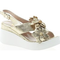 Nemesis Shoes Sandalet Altın Deri