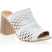 Nemesis Shoes Terlik Beyaz Deri