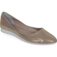 Nemesis Shoes Babet Ayakkabı Altın Baskılı Deri