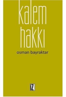 Kalem Hakkı-Osman Bayraktar