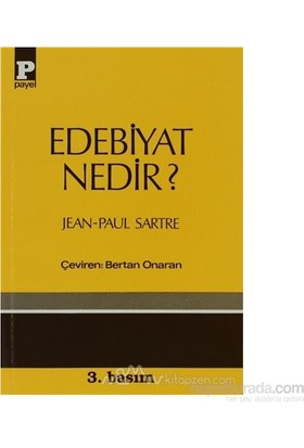 Edebiyat Nedir?-Jean Paul Sartre
